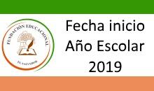 Inicio Año Escolar FEES 2019