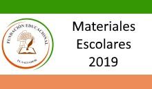 Listados de Materiales Escolares 2019