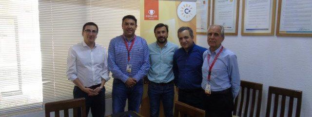 Director Ejecutivo se reúne con la Gerencia General de la División Salvador