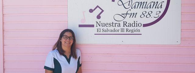 Directora Jardín Las Almendritas visitó Radio Damiana