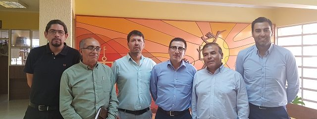 Director Ejecutivo de la FEES visita Alcalde de Diego de Almagro