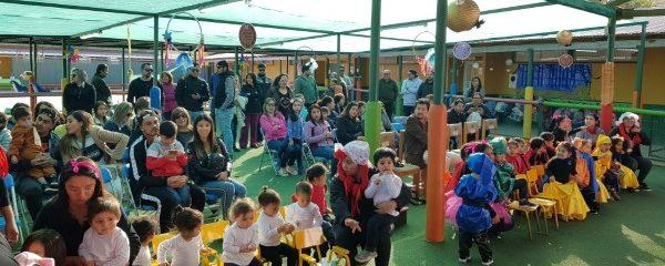 Chocolate poético en el Jardín Infantil Las Almendritas
